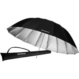 Westcott Standard Umbrella Silver 2,1m 7ft Parabolisk paraply SØLV