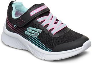 Skechers Girls Microspec Sneakers Sko Multi/mønstret Skechers