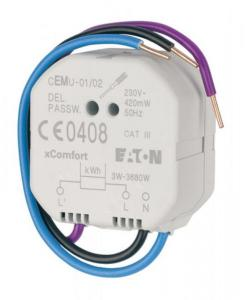 Energimålesensor 3-3680w cemu-01/04 xcomfort Eaton