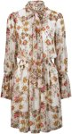 Hunkydory Kjole Jonquil Floral Dress Women Bone/floral print