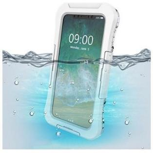 iPhone X / iPhone XS Active Series IP68 Vanntett Mobilpose - Hvit