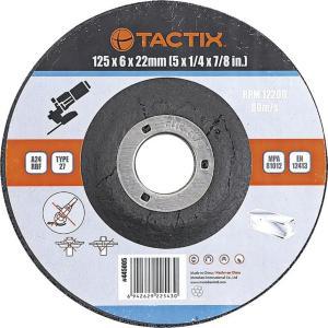 Tactix Slipeskive metall