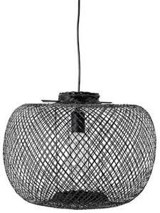 Bloomingville Pendel Lampe Svart Bambus