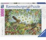 Ravensburger Puslespill 1000 Deler Nocturnal Forest Magic