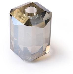 HKliving Krystallglass Lysestaker Grå Diamant