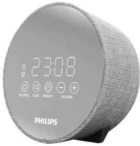 Philips Bærbar radio TADR402 - clock radio - FM - Grå TADR402/12