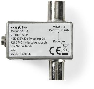 NEDIS DVB-T CATV POWER INSERTER 5V