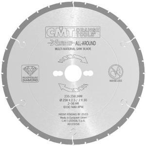 Sagblad for tre CMT 216x2.5x30 Z30 10°