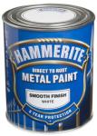 HAMMERITE METALLMALING GLATT HVIT 750ML