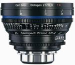 Zeiss Compact Prime CP.2 21mm T2.9 PL-mount