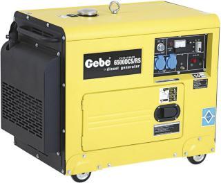 Gebe strømaggregat 6500 DCS/RS m/fjernstart