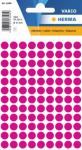 Herma Etikett Vario Ø 8 mm lyserød 4008705018364 (Kan sendes i brev)