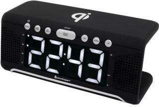 Soundmaster Klockradio med Qi-laddning