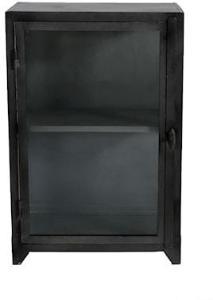 MUUBS Iron glass cabinet vitrineskap – 1 dør, liten