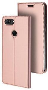 Huawei Honor 9 Lite Dux Ducis Skin Pro Flip-deksel - Roségull