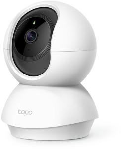 TP-LINK Pan/Tilt Home Security WiFi Camera Day/Night view 1080p FHD Micro SD card storage Up to 128GB H.264 Video 360/114 view angle (TAPO C200)