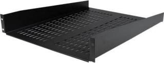StarTech 2U Vented Server Rack Mount Shelf - 22in Deep Cantilever Universal Tray for 19