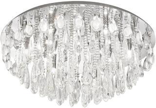 Eglo Calaonda Plafond 76 cm - Krom/Krystall