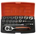 Bahco Pipesett 1/4'' SL25 4-13mm, 25 deler