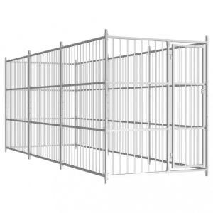 Utendørs hundegård 450x150x185 cm