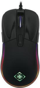 Deltaco Gaming RGB Optisk Svart Glossy Gaming Mus