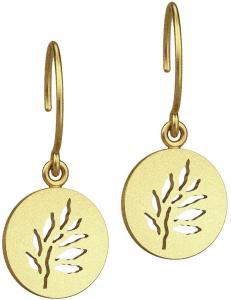 Julie Sandlau Signature Earring - Gold Øredobber Smykker Gull Julie Sandlau Women