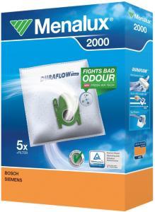 Menalux støvsugerposer 2000 til Bosch og Siemens støvsugere MENALUX2000