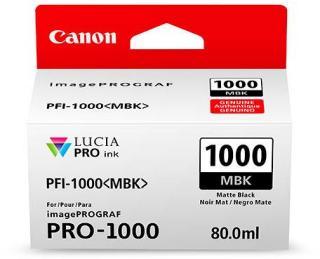 Canon Blekk LUCIA PFI-1000MBK Matt sort Til Canon ImagePrograf Pro-1000 80ml