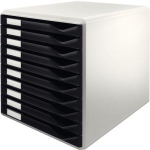 LEITZ Form set 10 drawers A4 Black (5281-00-95)