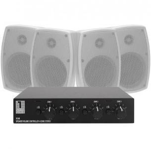 2 par System One OD520 eller IC820 høyttalere med høyttalerveksler SC4B