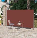 0 Uttrekkbar Sidemarkise/ Sideseil 180 x 300 cm - Brun