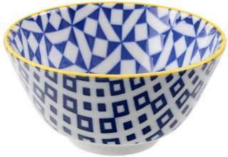 Bolle 12x6cm. blå/Geo Tokyo porselen