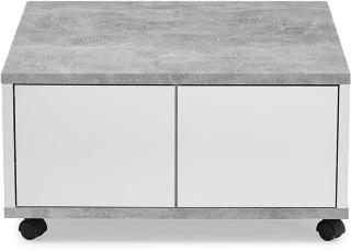 Scandinavian Choice Twin Sofabord 70 cm - Hvit/Betong