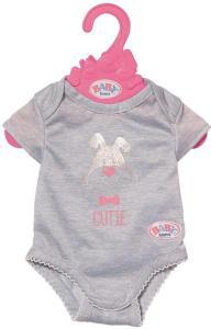 BABY Born Body 43 cm - grå body til dukke