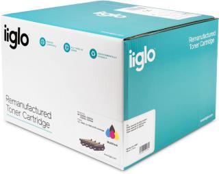 IIGLO Toner 504X Multi Tilsvarer HP CE250X/251-3A, CP3525/CM3530 (IITONER010)