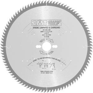 Sagblad for tre CMT 250x3,2x30 Z78 10°