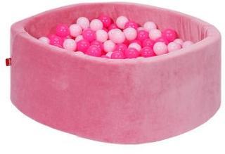 knorr® leker ballbad mykt - Myk rosa inkludert 300 baller myk rosa
