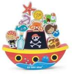 Le Toy Van 'Rock and Stack' Pirate Balance Game 3 - 7 years