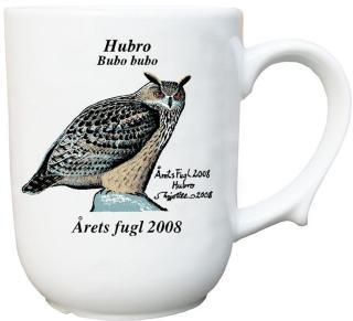 Hubro krus Årets fugl 2008