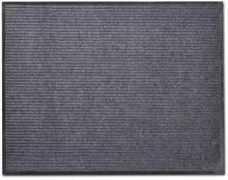 vidaXL Grå PVC Dørmatte 120 x 180 cm
