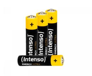 Intenso AAA Batterier - 4 Pakke