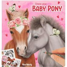 Miss Melody Miss Melody Tegnebok Create Your Baby Pony