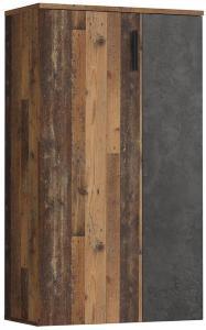 Ticketwood Skoskap 69 cm - Brun/Grå