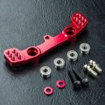 MST-210590R Alum. steering joint plate (red)