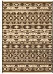 vidaXL Teppe sisal-aktig innendørs/utendørs 140x200 cm etnisk design
