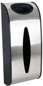 Posedispenser i rustfritt stål