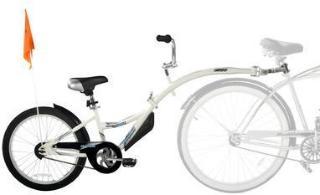 WeeRide Tandem sykkeltrailer Copilot White