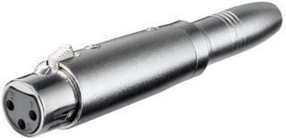Adapter – XLR-hunn til 6,3 mm-hunn