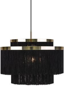 Globen Lighting Pendel Frans, Svart