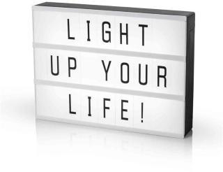 Smartwares LED Light box A4 med 85 tecken